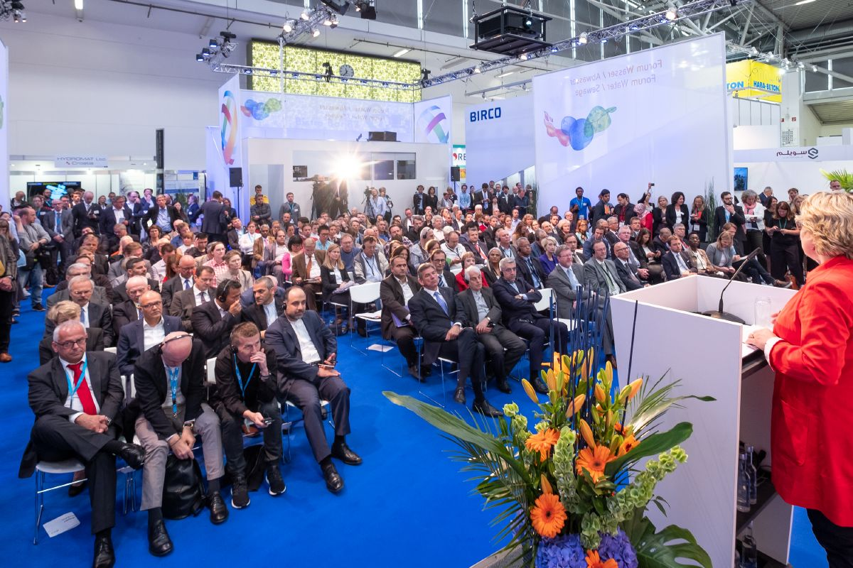 Hội thảo tại IFAT MUNICH